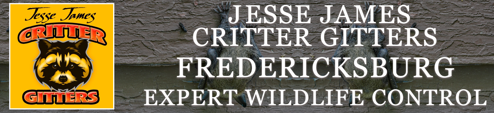 Critter Gitters header FREDERICKSBURG virginia